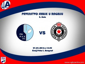 RK Rad MOZZART - RK Partizan