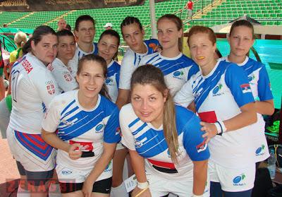 Devojke Srbije na Prvenstvu Evrope u Sarajevu
